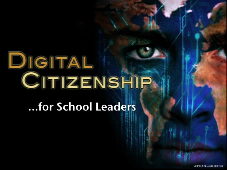 Digital Citizenship for School Leaders