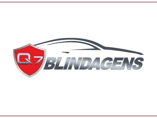 TRANQUILIDADE E SEGURANÇA Hoje em dia a blindagem automotiva tornou-se um item indispensável para a integridade física mas...