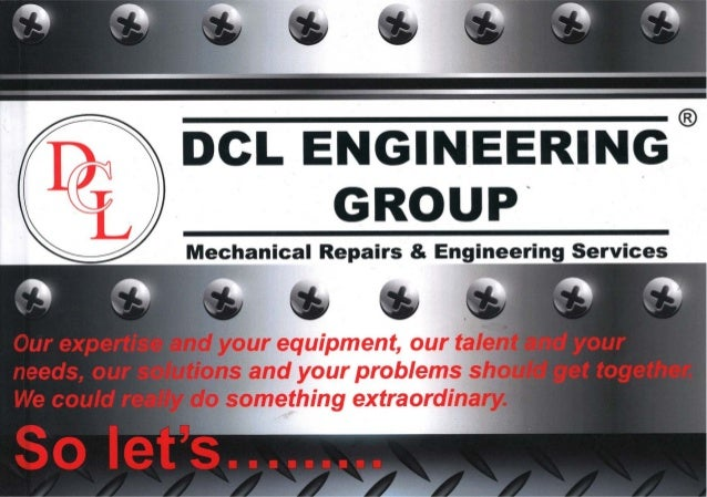 DCL ENGINEERING GROUP (BOOK) 2014