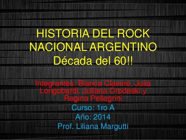 Musica Argentina Decada Del 60 Argentino Década Del 60