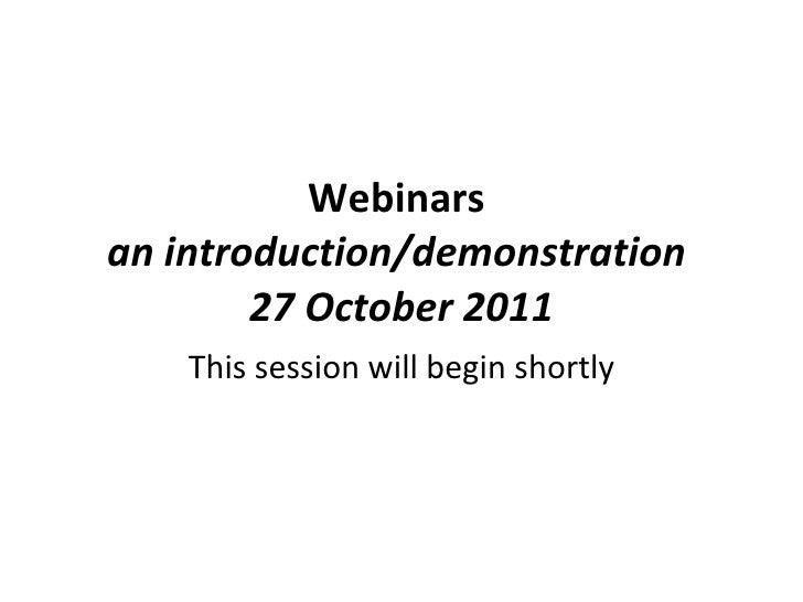 Dcad webinar27 oct2011