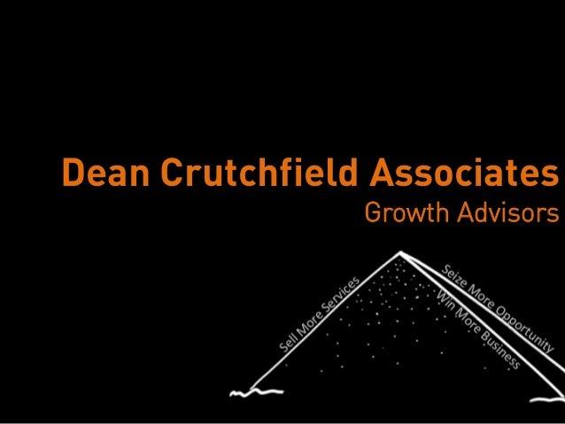 Dean Crutchfield Associates                                       Growth Advisors         Dean Crutchfield Associates