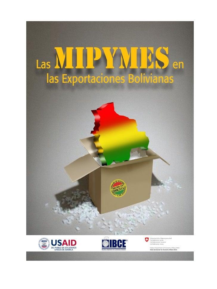 MIPYMES en las Exportaciones