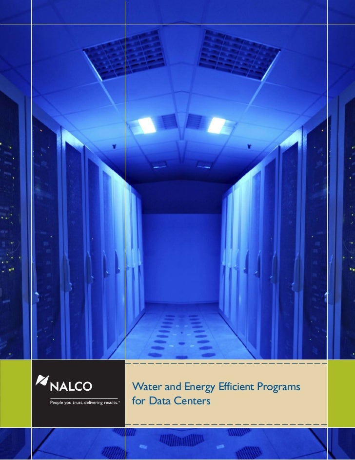 Water and Energy Efficient Programs™    for Data Centers