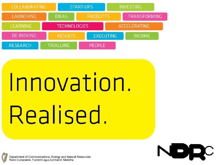 Gary Leyden, NDRC: Business Canvas Model Workshop