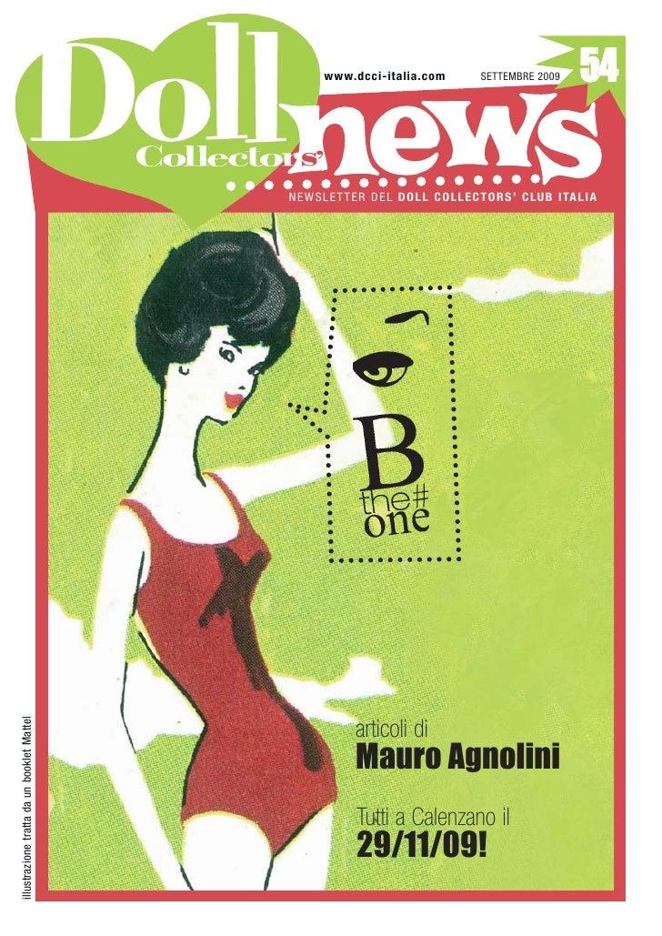 Doll News #54, settembre 2009, Doll Collectors' Club Italia