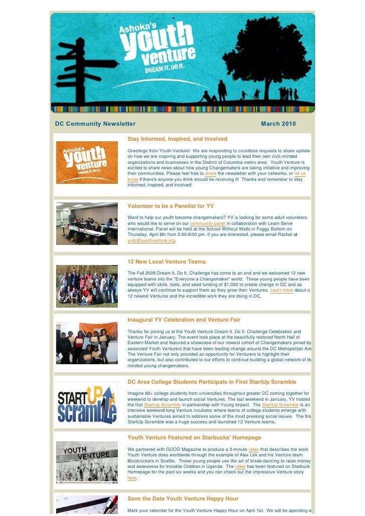 DC Community Newsletter                                                                      March 2010                   ...