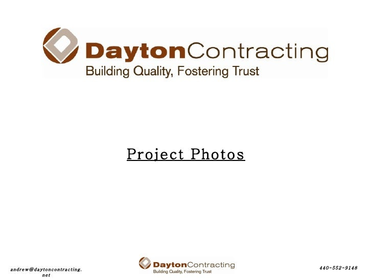 Slide Show of Construction Projects