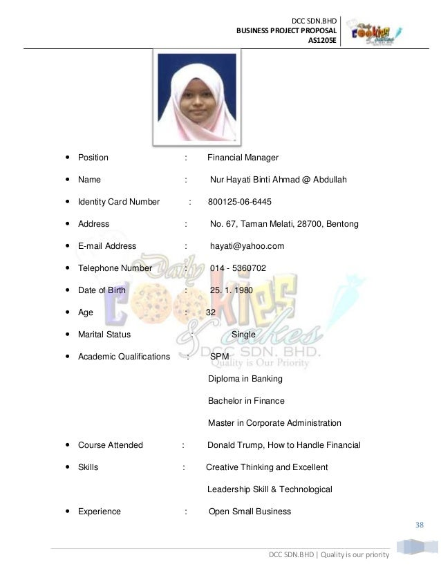 Example Of Resume Uitm