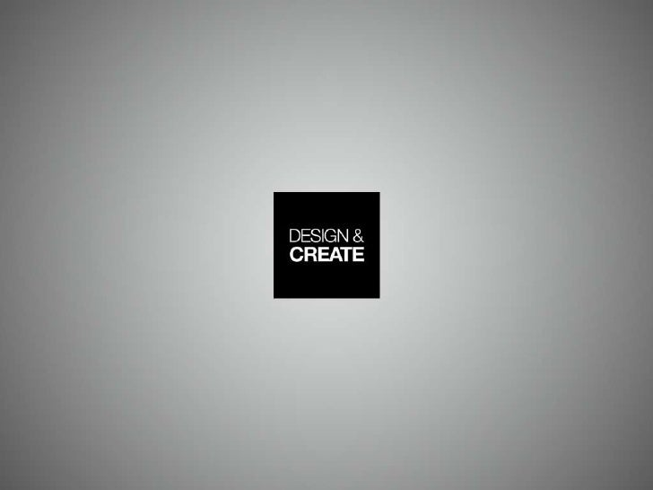 Design and Create