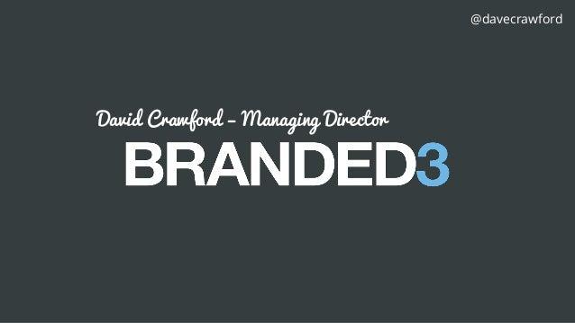 Sitecore Digital Trendspot: The power of brand storytelling in the digital age - David Crawford