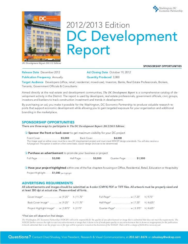 DC    Development Report                                                           2010/2011 edition                      ...