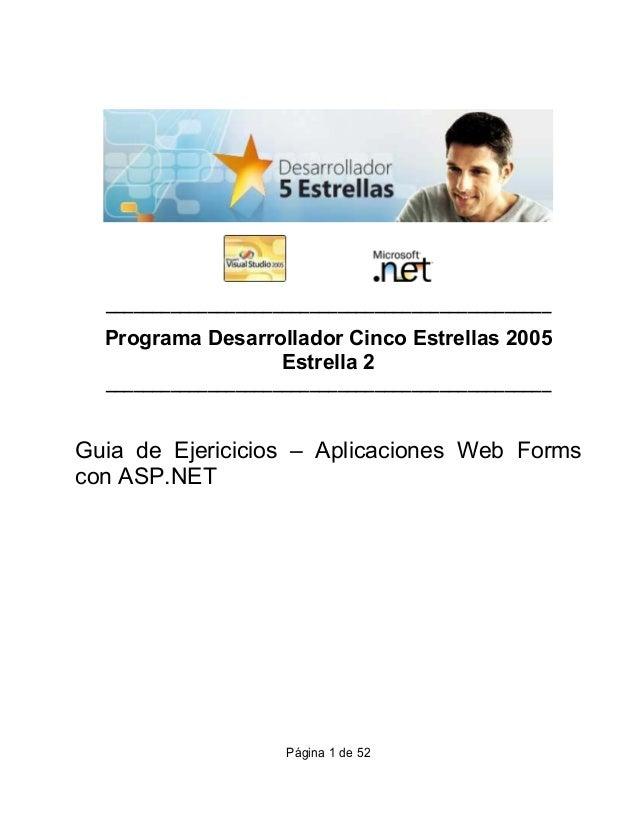 ________________________________________________  Programa Desarrollador Cinco Estrellas 2005                  Estrella 2 ...