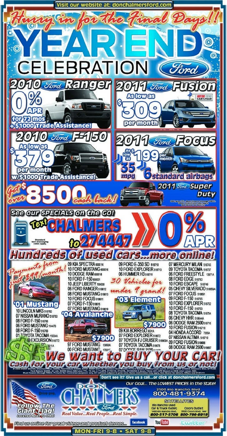 Don Chalmers New Mexico Ford Dealer