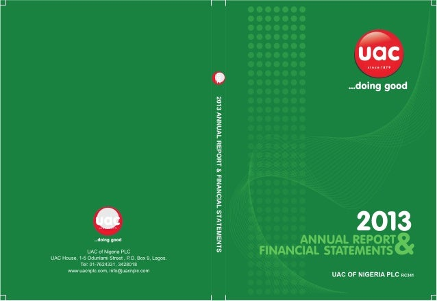 Uac annual report 2013