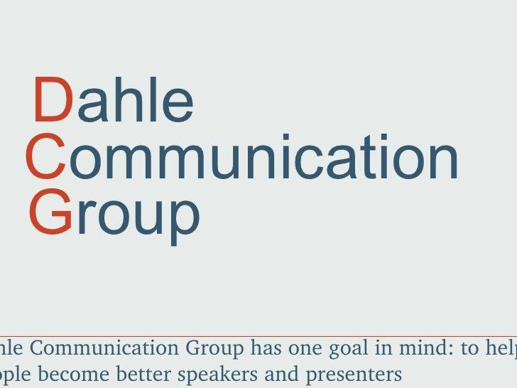 Dahle Communication Group
