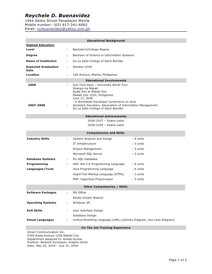 updated resume examples updated resume examples college resumes examples updated resume for