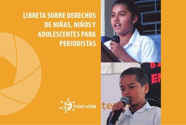 Libreta sobre Derechos de Niñas, Niños y Adolescentes para periodistas