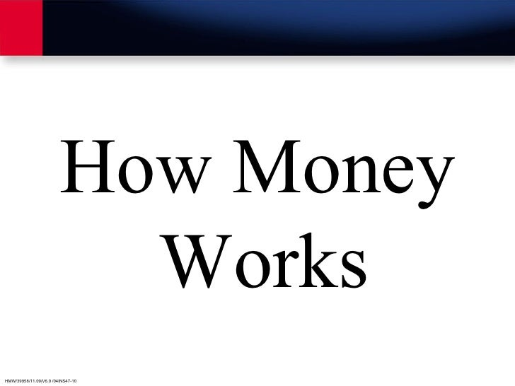 How currency works