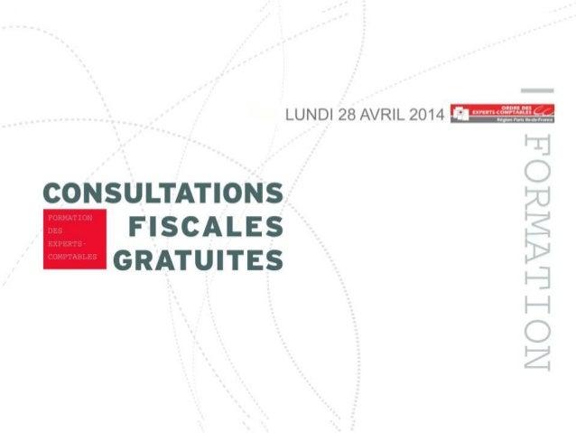 FORMATION DES EXPERTS-COMPTABLES VOLONTAIRES MES IMPÔTS MÉRITENT UN EXPERT Frédéric FELLER Laura TOUITOU Infodoc-Experts