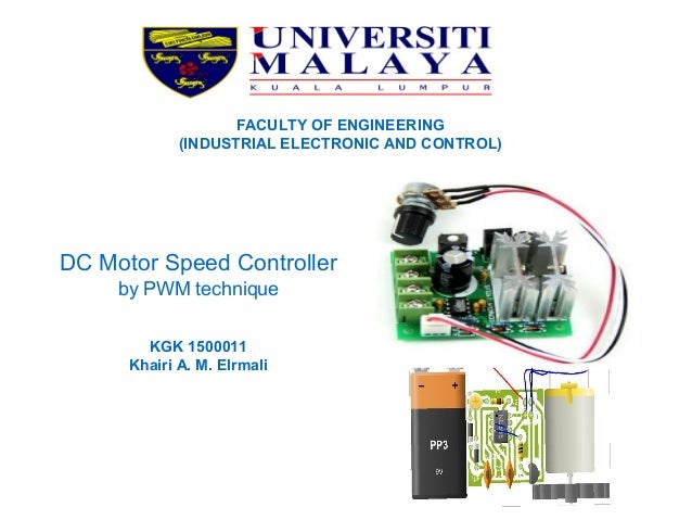 Dc motor speed controller by pwm technique for Brushless dc motor control using digital pwm techniques