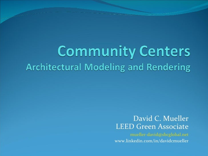 DCM Portfolio Community Centers