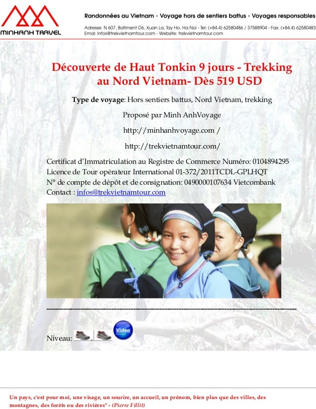 Découverte de Haut Tonkin 9 jours - Trekkingau Nord Vietnam- Dès 519 USDType de voyage: Hors sentiers battus, Nord Vietnam...