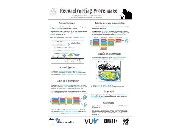 """ISWC DC poster """"Reconstructing Provenance"""""""
