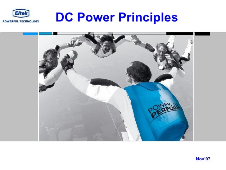 Nov'07 DC Power Principles