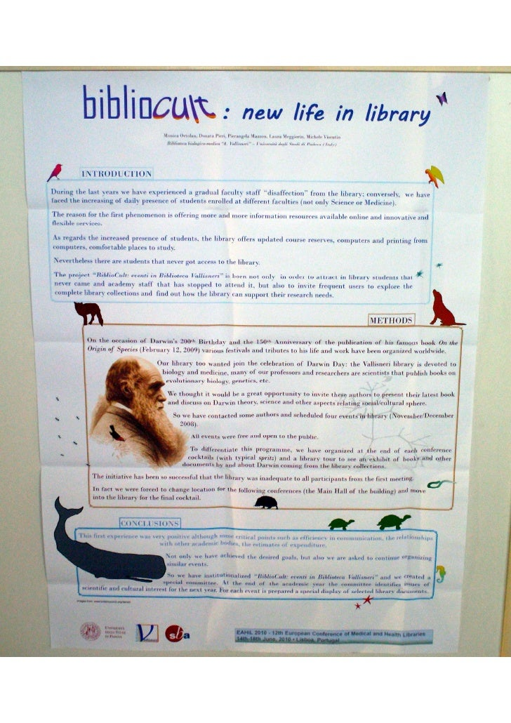 BiblioCult: new life in library (poster EAHIL2010)