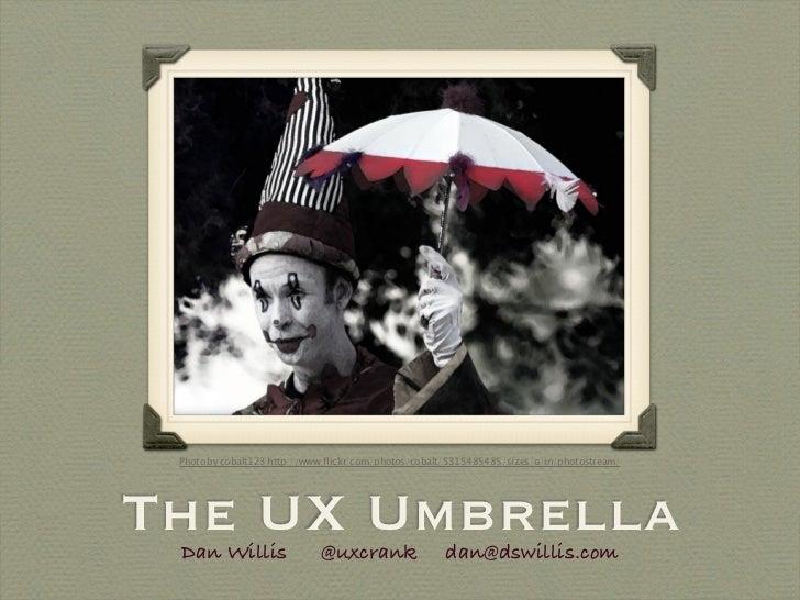 The UX Umbrella