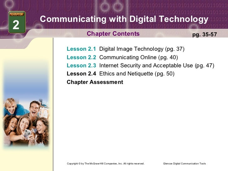 Communicating with Digital Technology2                         Chapter Contents                                           ...