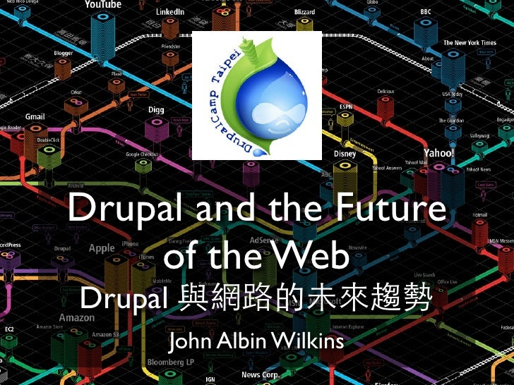 Drupal and the Future     of the Web Drupal          John Albin Wilkins