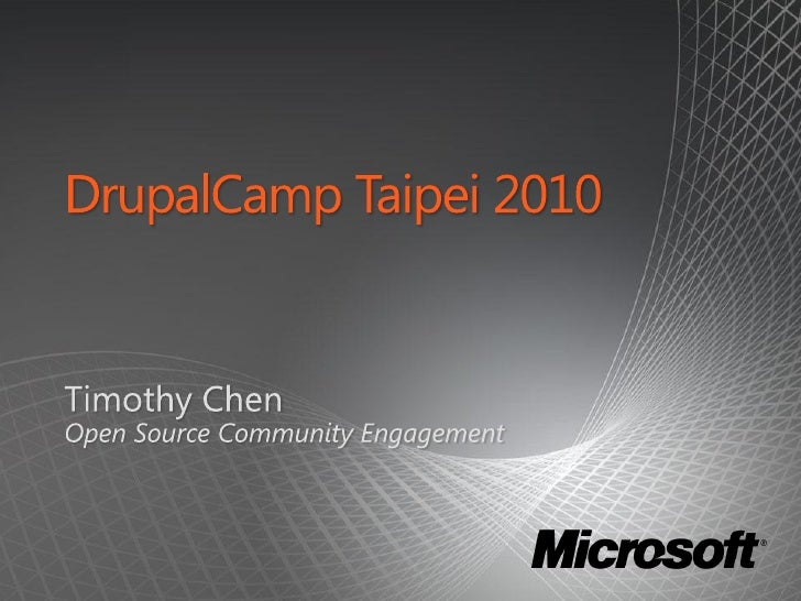 [DCTPE2010] Microsoft