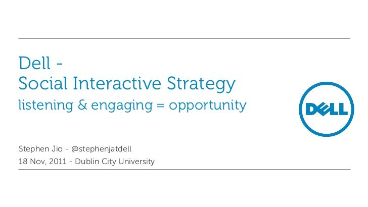 Social Interactivity Strategy - Listen + Engage = Opportunity
