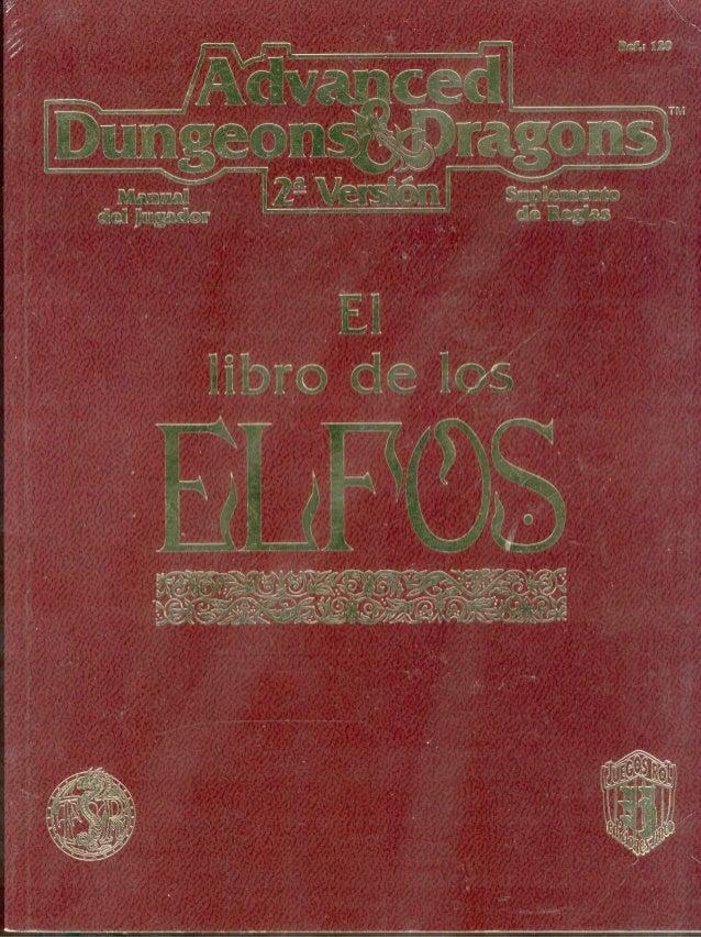 D&D   2.0 -el libro de los elfos