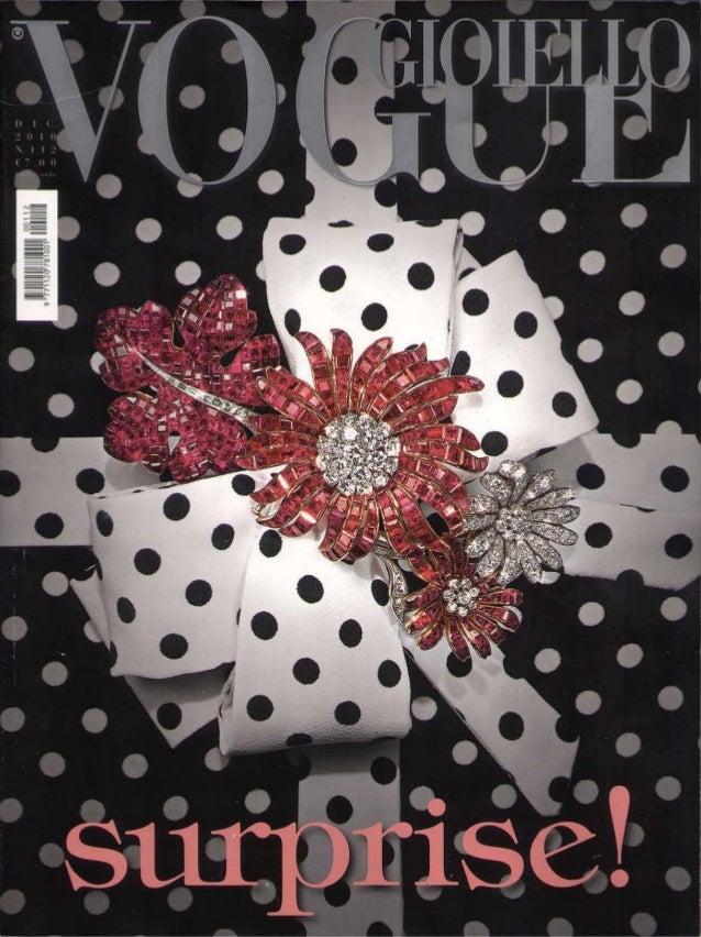 """VOGUE JOAILLERIE : """"Le temps florissant de la montre"""" (Dec. 2010)"""