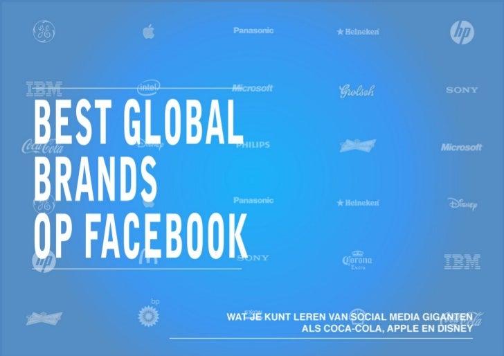 DD - E-book Facebook Brand Engagement Top100 Brands