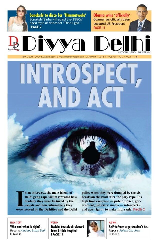 Divya Delhi- Jan 7, 2013