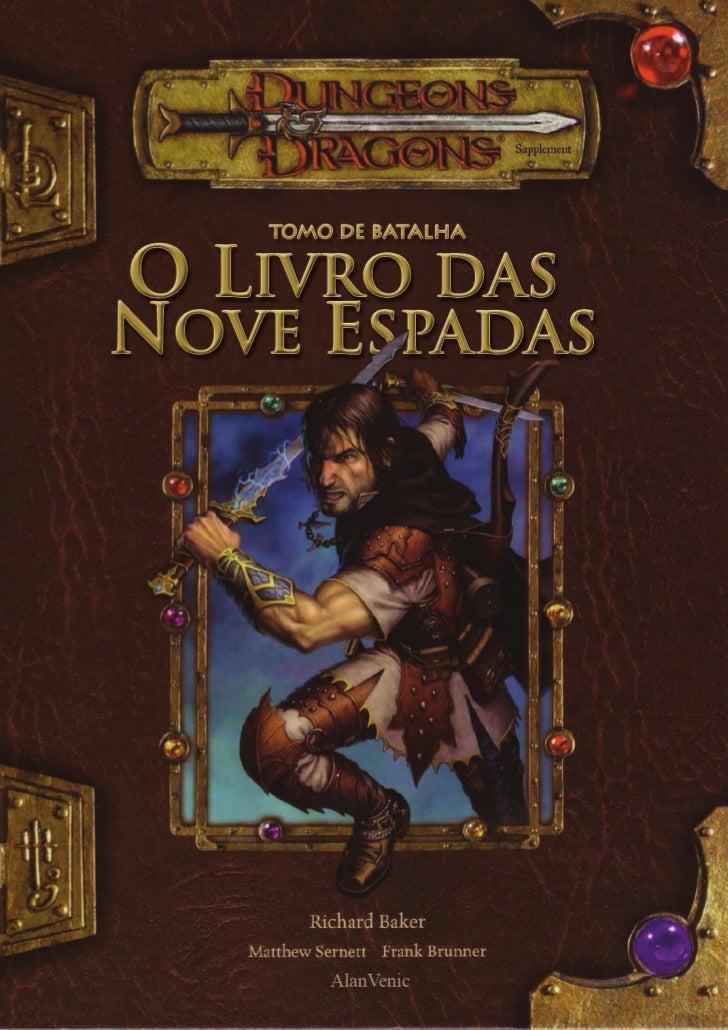 D& D    O  Livro Das  Nove  Espadas