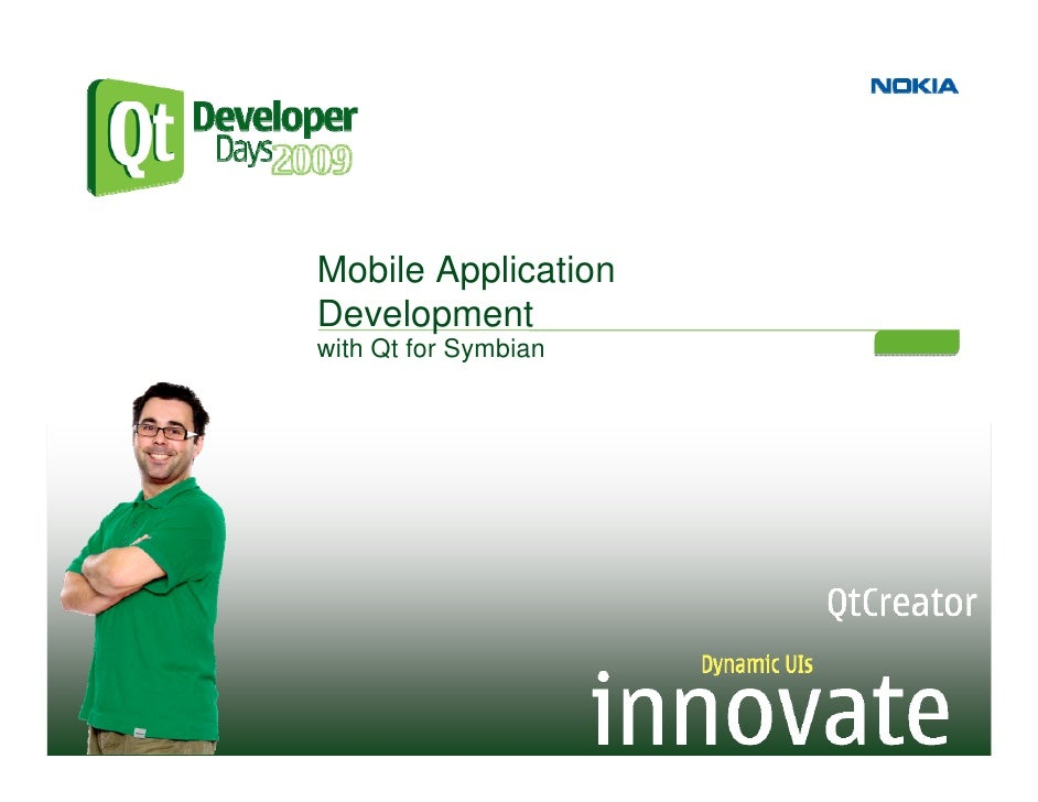 Mobile Development with Qt for Symbian