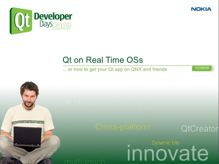 Qt on Real Time Operating Systems