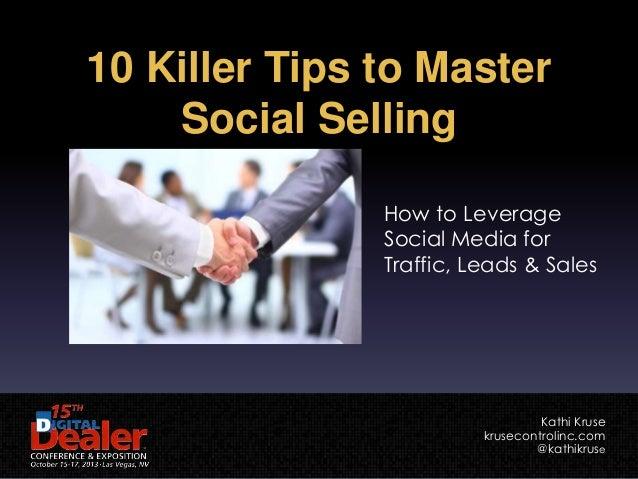 Killer Tips to Master Social Selling (Digital Dealer 15)