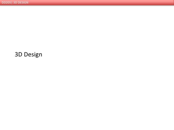 3D Design<br />