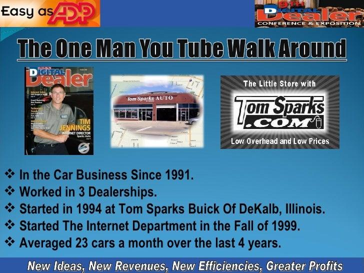 <ul><li>In the Car Business Since 1991. </li></ul><ul><li>Worked in 3 Dealerships. </li></ul><ul><li>Started in 1994 at To...