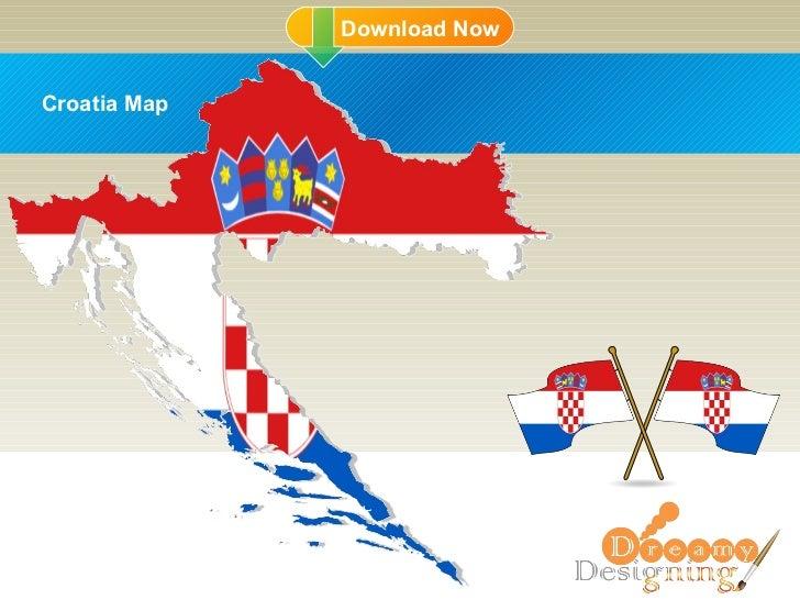 DD Croatia Map