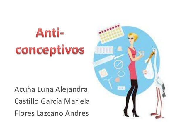 Farmacos anticonceptivos