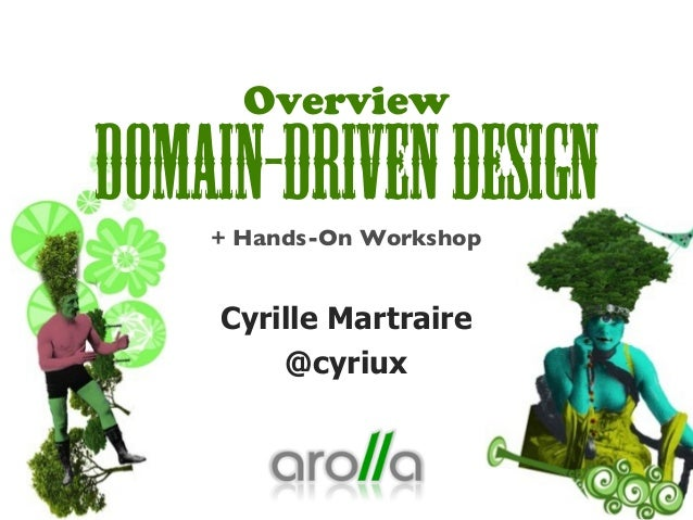 Overview Domain-DrivenDesign+ Hands-On Workshop Cyrille Martraire @cyriux