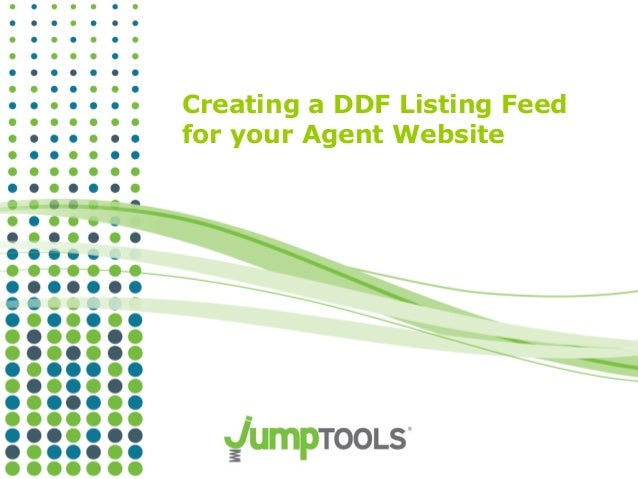 Ddf feed tutorial agents
