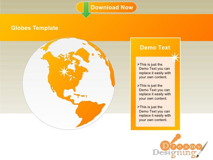 Globes Template Demo Text This is just the Demo Text you can replace it easily with your own content. This is just the Dem...